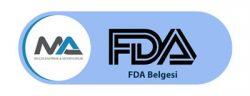 FDA Belgesi ve Onayı