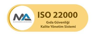 ISO 22000 Belgesi
