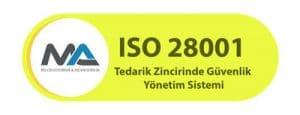 ISO 28001 Belgesi